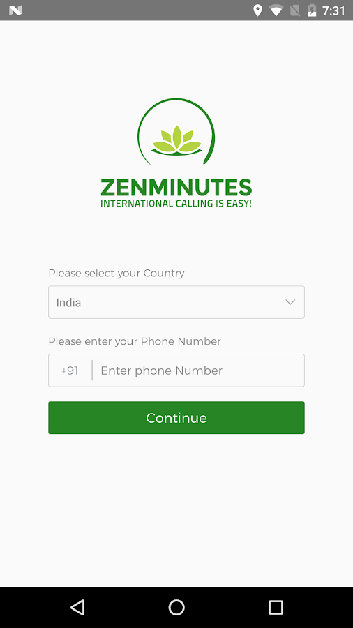 ZenMinutes App- screenshot
