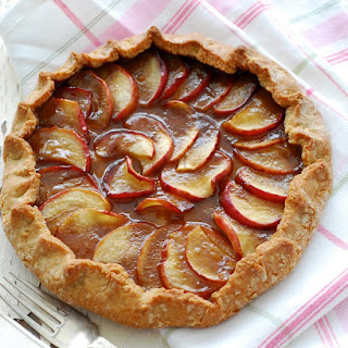 We've Gone all Tarty – Potato & Balsamic Onion Wholemeal Tart, Caramel Apple Olive Oil Pastry Galette