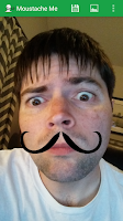 Screenshot of Moustache Me