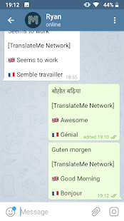TranslateMe Telegram Messenger