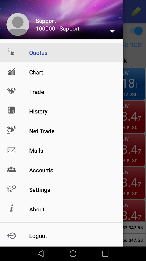 VertexFX aTrader - Forex & Stocks Online Trading- screenshot