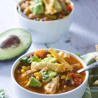 Spicy Chicken Taco Soup Recipes