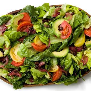 Cuban Green Salad with Avocados.