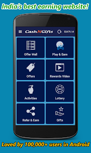 CashNGifts - Earn Money, Free Bitcoins, Recharge- screenshot thumbnail
