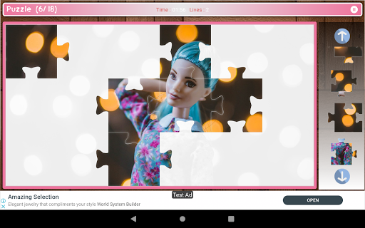 Cute And Beautifull Doll Game Puzzle android2mod screenshots 10