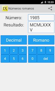 Los Números Romanos Apps En Google Play
