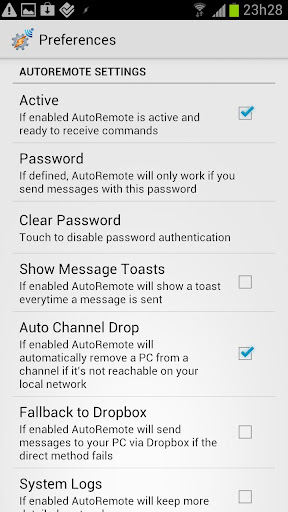Screenshot for AutoRemote in United States Play Store
