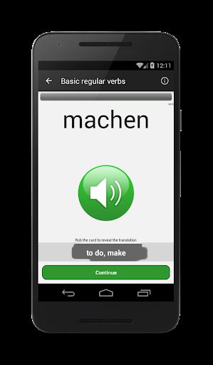 Verben - Trainer screenshot 1