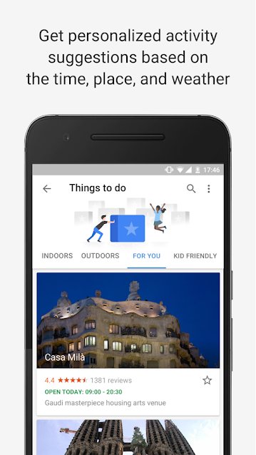google Trips Android App