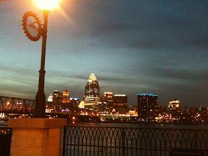 Photo: Cincinnati from Newport on the Leve
