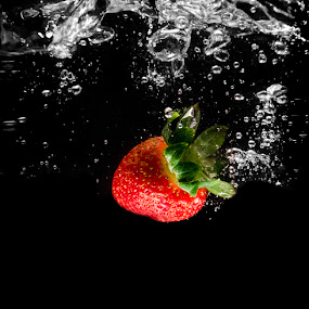 Strawberry by Kamlesh Kumar - Food & Drink Fruits & Vegetables