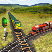Indian Train Racing Games 3D - Multiplayer