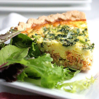 Weeknight Salmon and Kale Pie