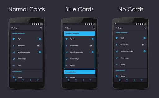 Vapor Blue - Layers Theme