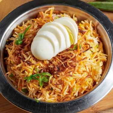 Egg Biryani Set