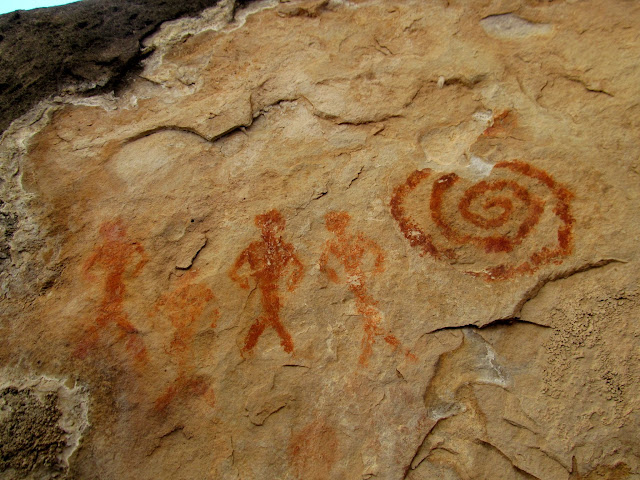 Black Canyon pictographs