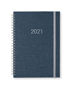 Kalender 2021 Newport vecka/notes Dark Denim