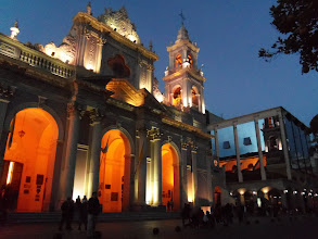 Photo: The Cathedral of Salta, Argentina