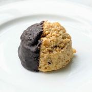 Chocolate-Dipped Macaroon