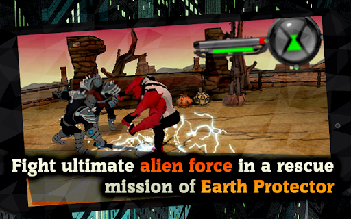 Alien Force War: Earth Protector captures d'u00e9cran 1