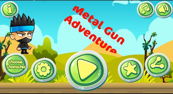 Metal Gun Adventure - náhled