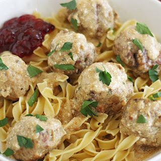 Swedish Meatballs Egg Noodles Recipes