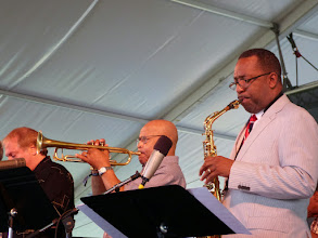 Photo: Donald Harrison sax, Eddie Henderson, tr with The Cookers