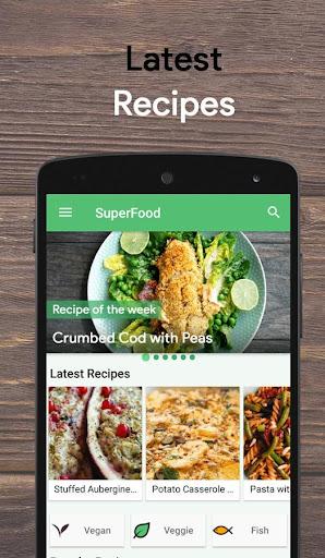SuperFood - Healthy Recipes 5.7.5 screenshots 1