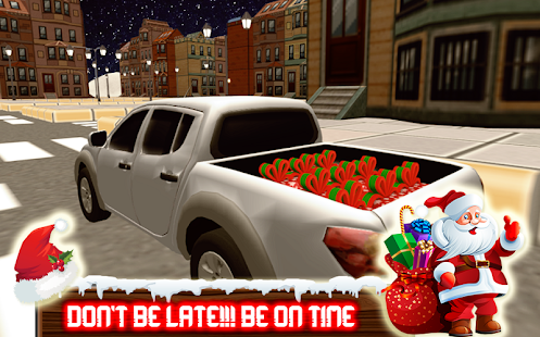 Santa Xmas Gift Delivery:Christmas Truck Game - náhled