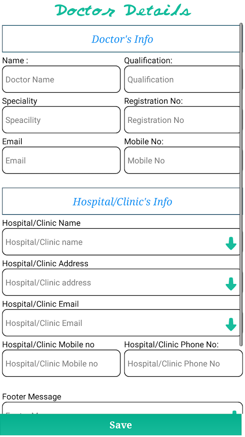 Prescription Pad Trial- screenshot