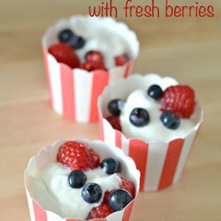 Vanilla Bean Yogurt Recipe with Fresh Berries