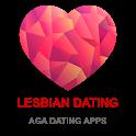 Lesbian Dating App - AGA icon