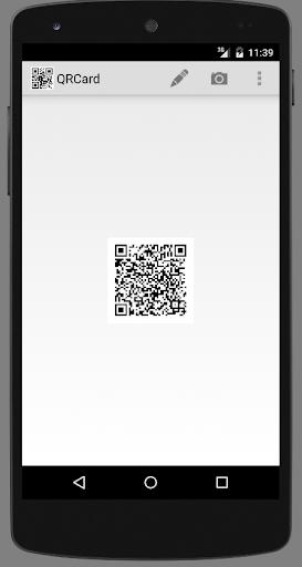 QRCard - QR code for vCard