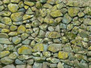 Photo: Yumbo stonework, side of pool