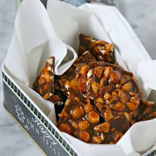 Easy Macadamia Cashew Brittle.