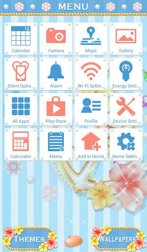 Cute Theme-Tropical Summer!- 1.0.1 Windows u7528 2