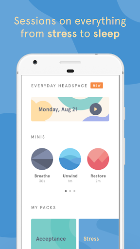 Headspace: Meditation & Mindfulness  screenshots 4