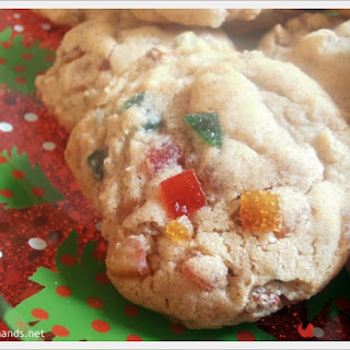 Chewy Fruitcake Cookies