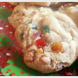Chewy Fruitcake Cookies.