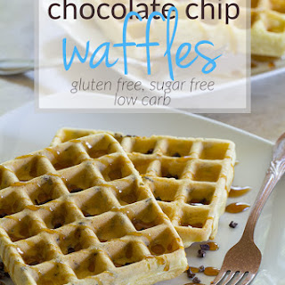 5 Ingredient Chocolate Chip Waffles