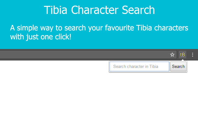 Tibia Character Search