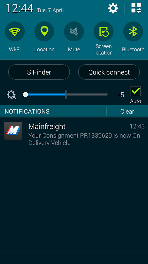 Mainfreight- screenshot
