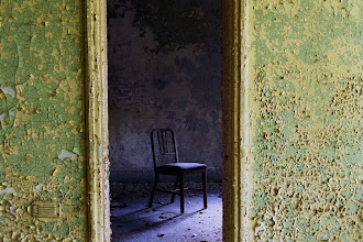 Photo: Chair in patient room at Taunton State Hospital.