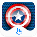Captain USA Keyboard Theme icon