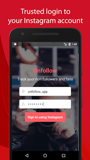 Screenshot for Unfollow for Instagram Pro in Hong Kong Play Store