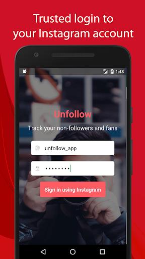 Unfollow for Instagram Pro  screenshots 1