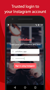 Unfollow for Instagram Pro Screenshot