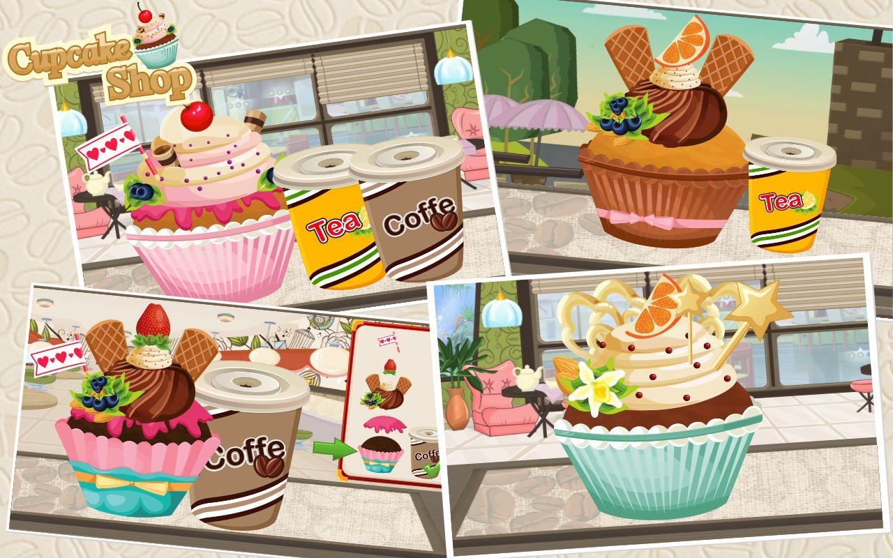 Cupcake Shop- screenshot