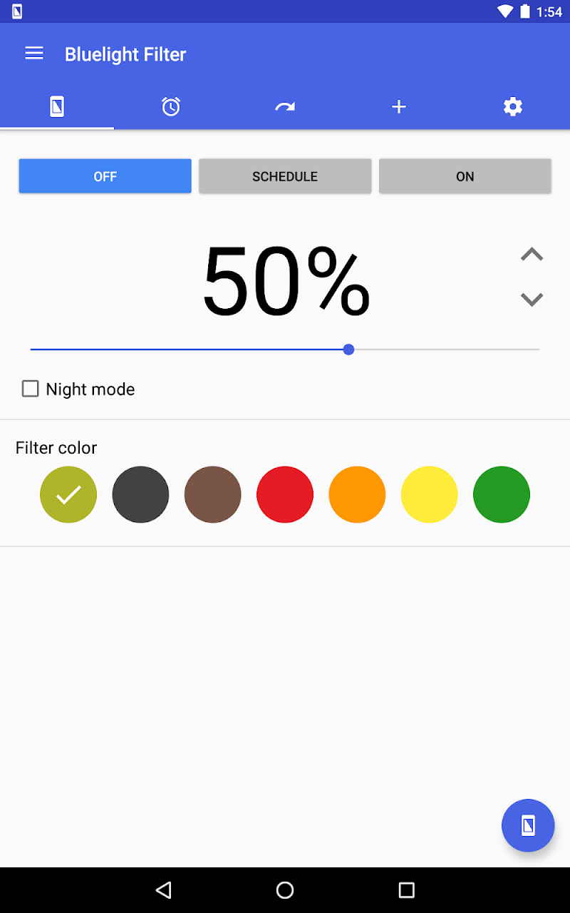 Bluelight Filter for Eye Care Screenshot 12