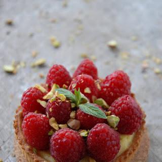 Raspberry Pistachio Tartelettes